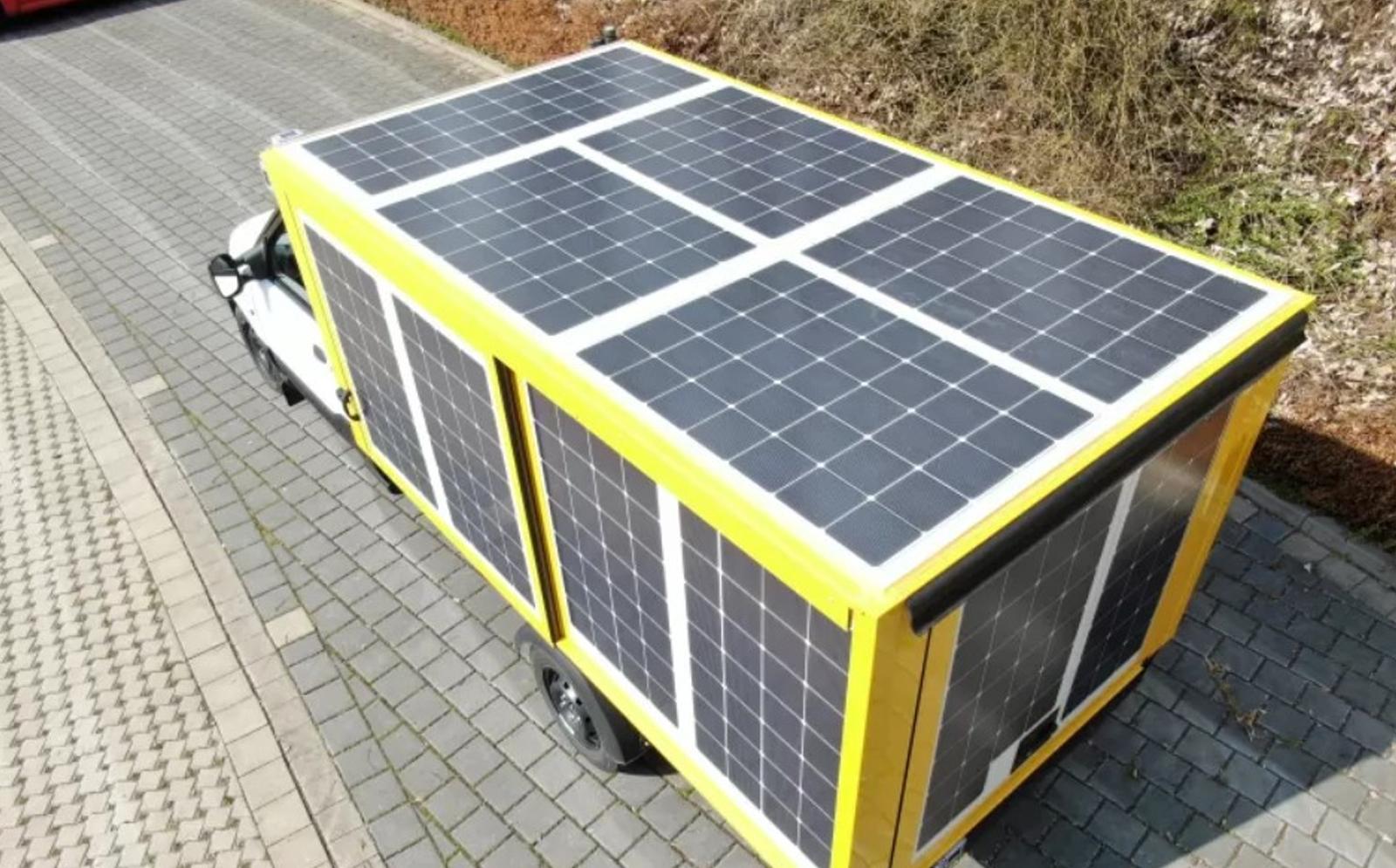 Paneles solares en vehículos eléctricos